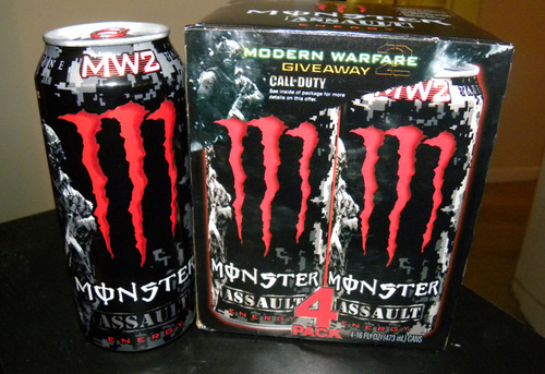 Modern Warfare Energie Drink