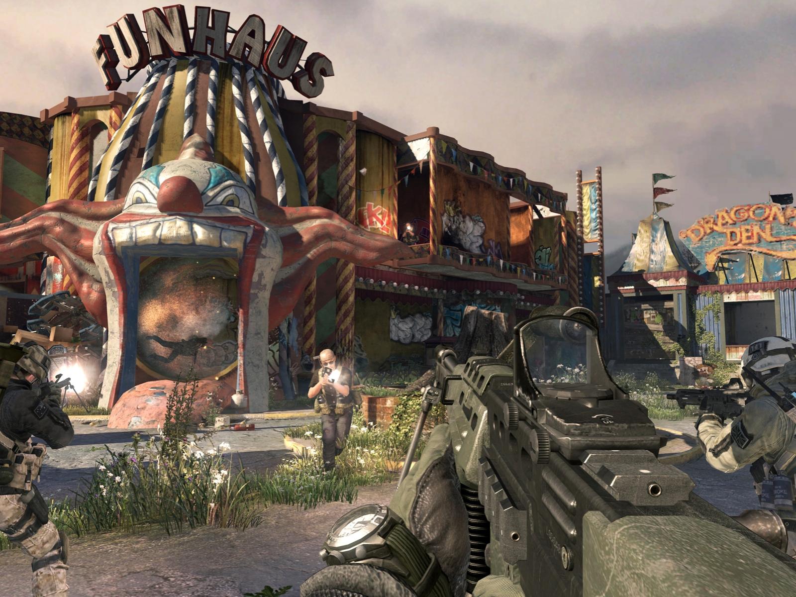 resurgence modern warfare 2 carnival